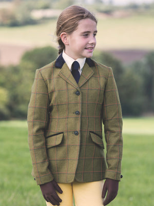 Equetech Junior Launton Tweed Show Jacket