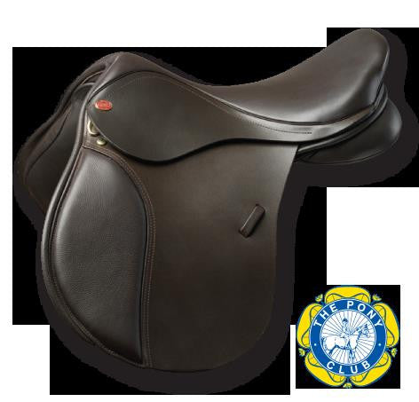 Kent & Masters Pony Club Leather Saddle