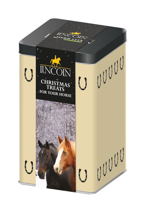 Lincoln Christmas Treats In Tin