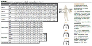 Ariat Tri Factor Grip Full Seat Breeches size chart