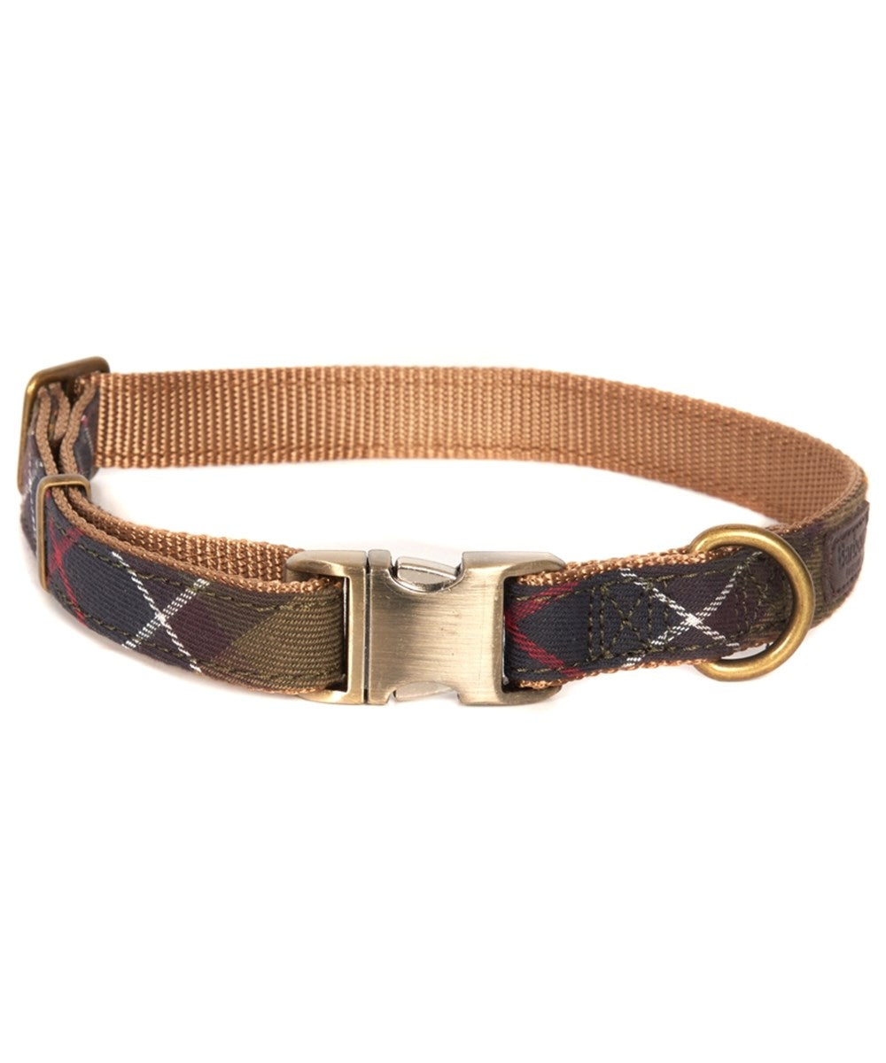 Barbour Tartan Webb Dog Collar