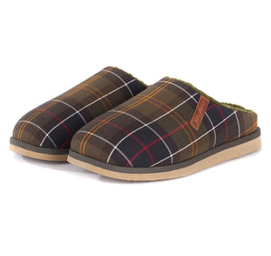 Barbour Hughes Tartan Slippers