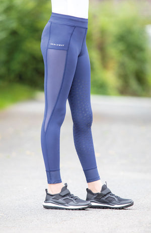 Bridleway Junior Paige Mesh Riding Tights