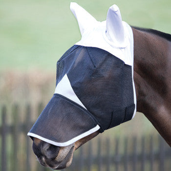 Bridleway Fly Mask With Nose