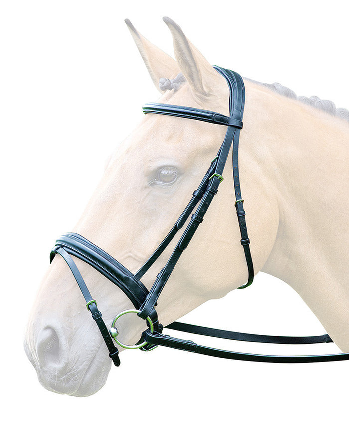Bridleway Lavello Flash With Crank Bridle