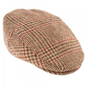 Heather Chapman Tweed Flat Cap