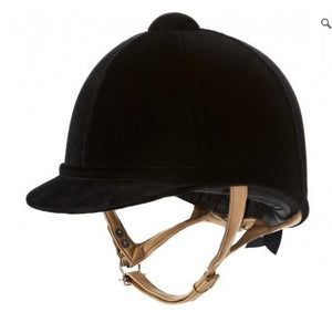 Charles Owen Fian Velvet Riding Hat
