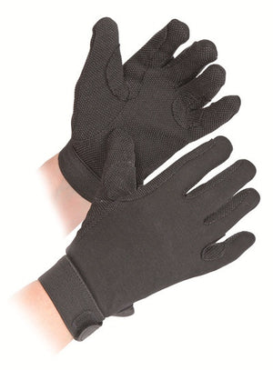 Shires Cotton Pimple Gloves Adult