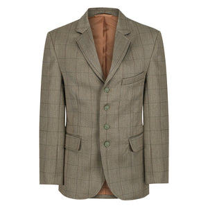 Boys Foxbury Equetch Tweed Show Jacket
