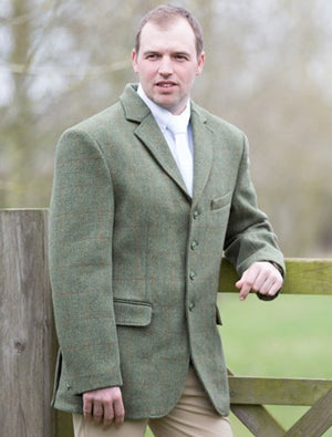 Equetech Mens Claydon Tweed Jacket