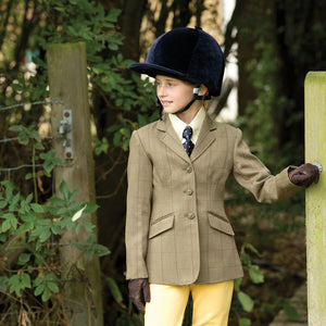Junior Foxburury Equetech Tweed Show Jacket