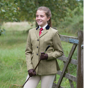 Junior Foxbury Deluxe Equetch Tweed Jacket
