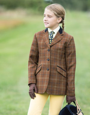 Equetch Marlow Tweed Riding Jacket Jnr