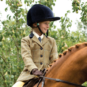 Junior Studham Equetech Tweed Riding Jacket