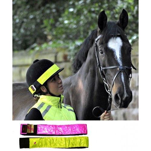 Equisafety LED Hat Band-Rechargeable