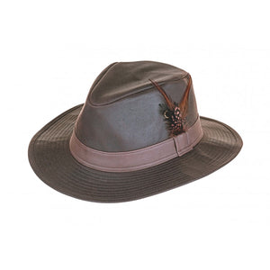 Heather Rambler Wax Trilby Hat