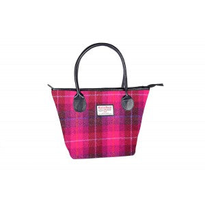 Mary Harris Tweed Tote Handbag