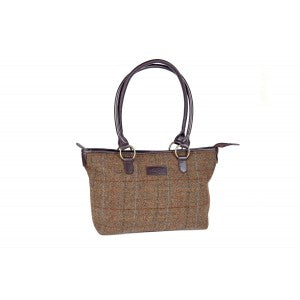 Heather Elise Tweed Classic Tote Bag