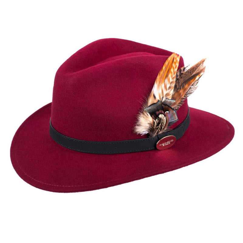 Hicks & Brown Suffolk Fedora - Gamedbird