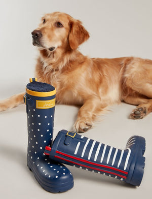 Joules Rubber Welly Dog Toy
