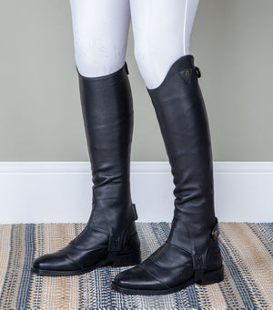 Shires Moretta Leatehr Gaiters