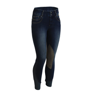Tredstep Denim 11 Breech Knee Patches