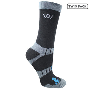 Woof Wear Bamboo Short Riding Socks 2 Pairs