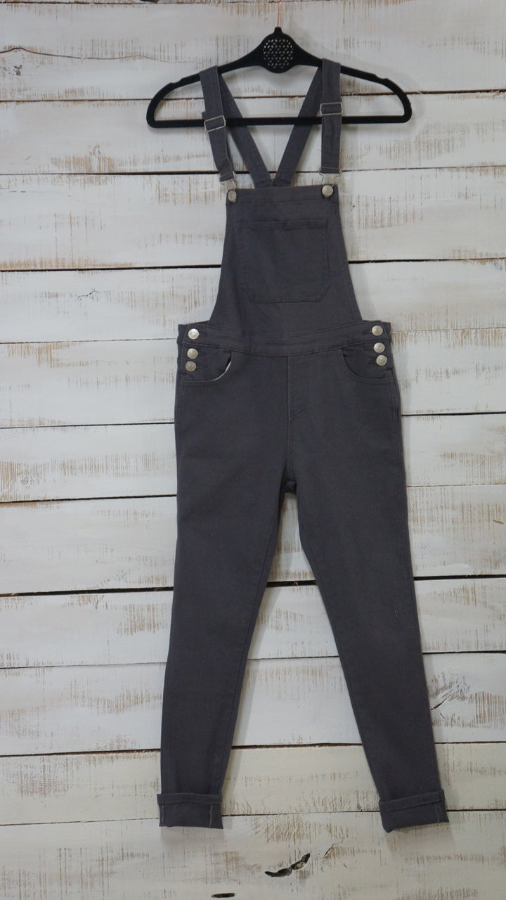 134a7d2196 Flash Sale - Sloan Skinny Leg Overalls – The Collective Rose