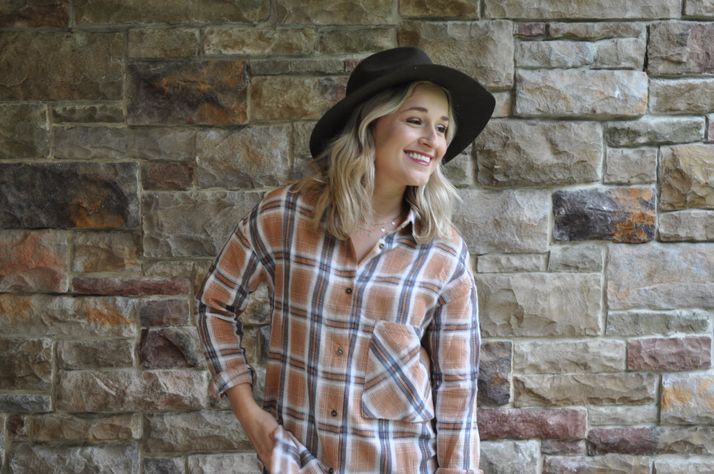Casey Plaid Button Down