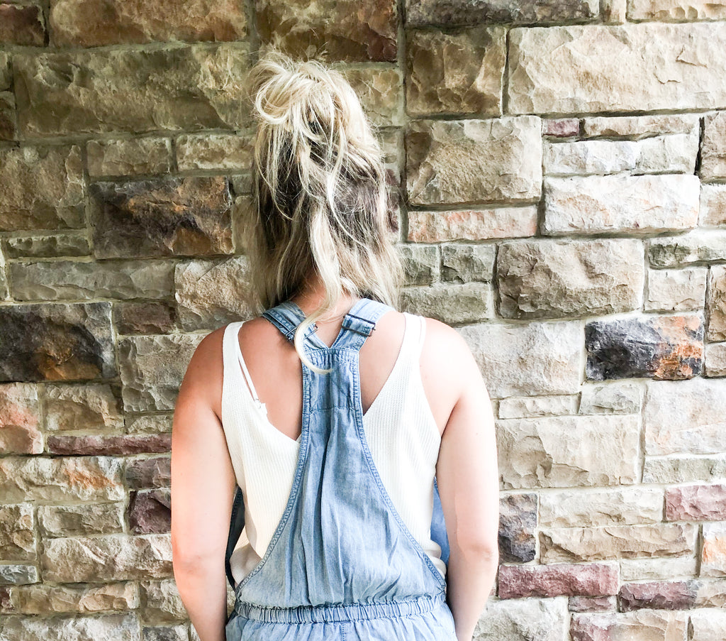 Emersyn Denim Overalls