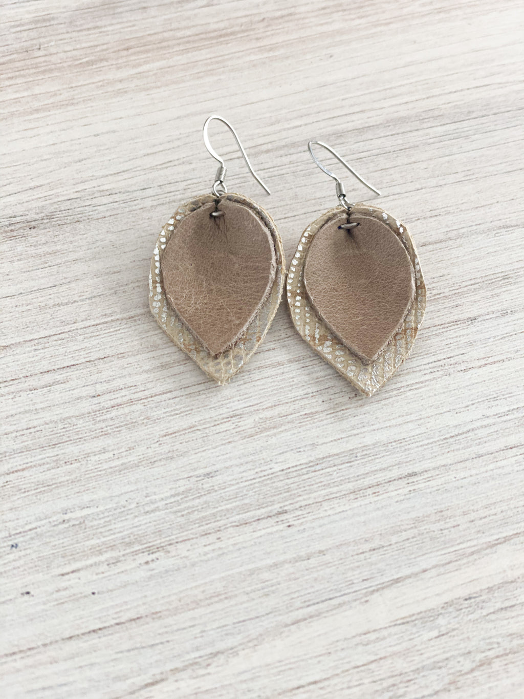 Neutral Layered Earring