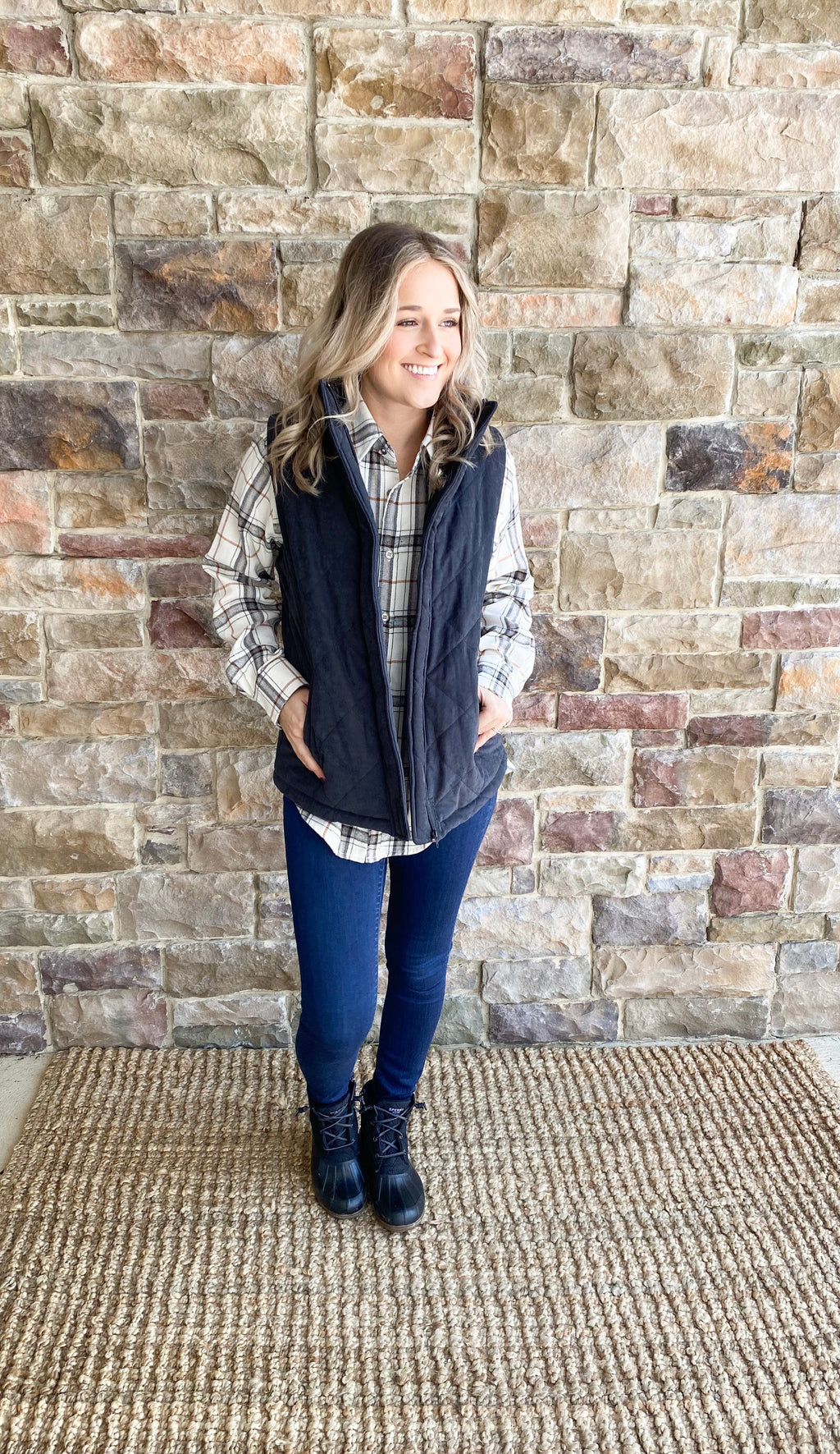 Quilted Vest - Final Sale