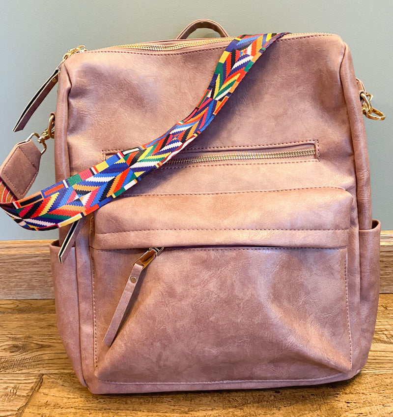 McKenzie Backpack - Mauve