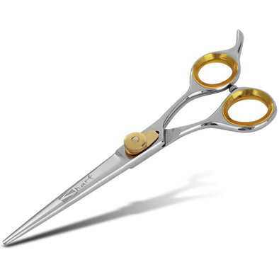 Gold Touch Professional 6.5 Inch Straight Barber Scissors