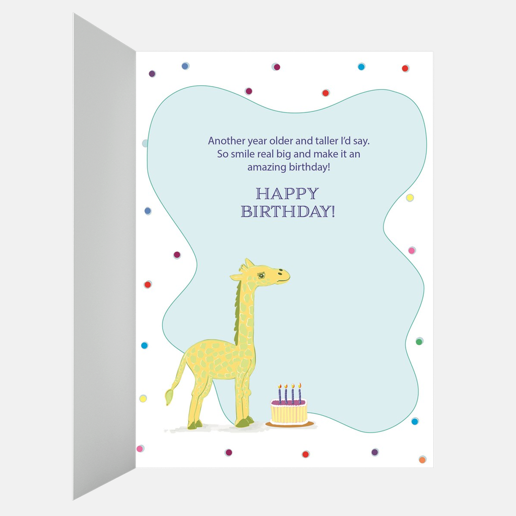 Panda Bear Happy Birthday Greeting Card