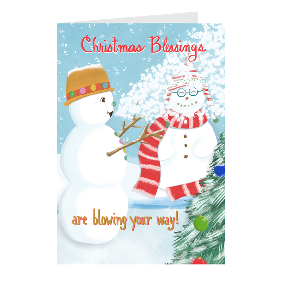 Mini Christmas Cards - Christmas Blessings