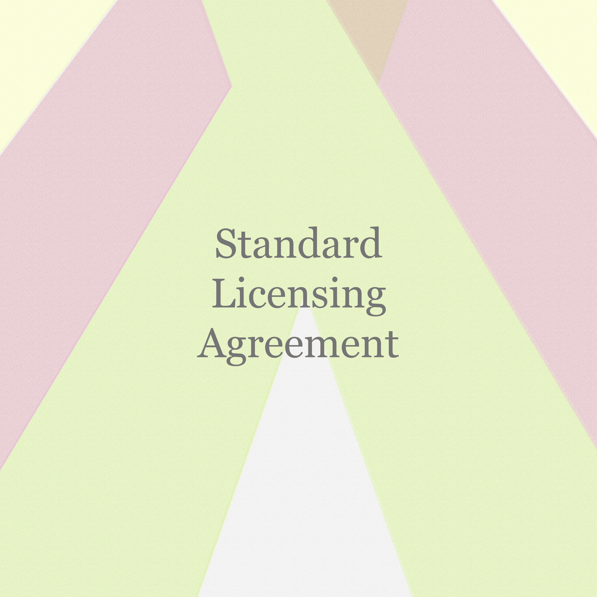 Standard Licensing Agreement