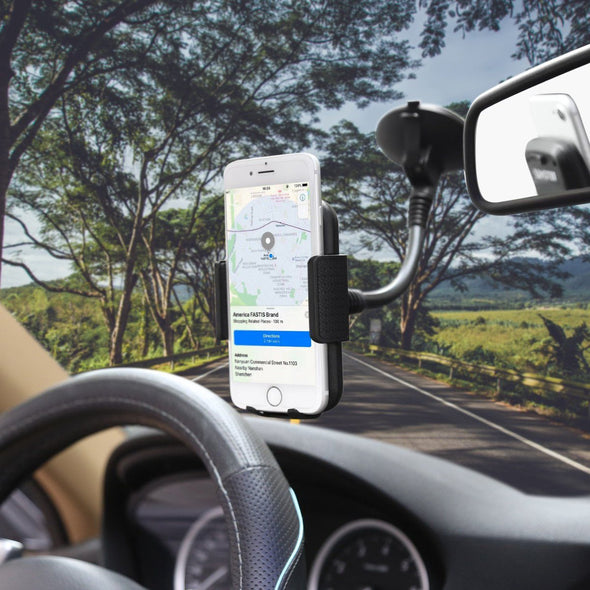 Argom Tech Cell Phone Car Mount - Strong Suction - The Car Wizz AutoStore