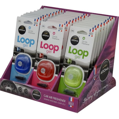 Aroma Loop Gel Car Air Freshener - The Car Wizz AutoStore