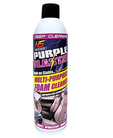 Car Foam Cleaner Multi-Purpose Aerosol Can deep cleaning Purple Blaster - The Car Wizz AutoStore