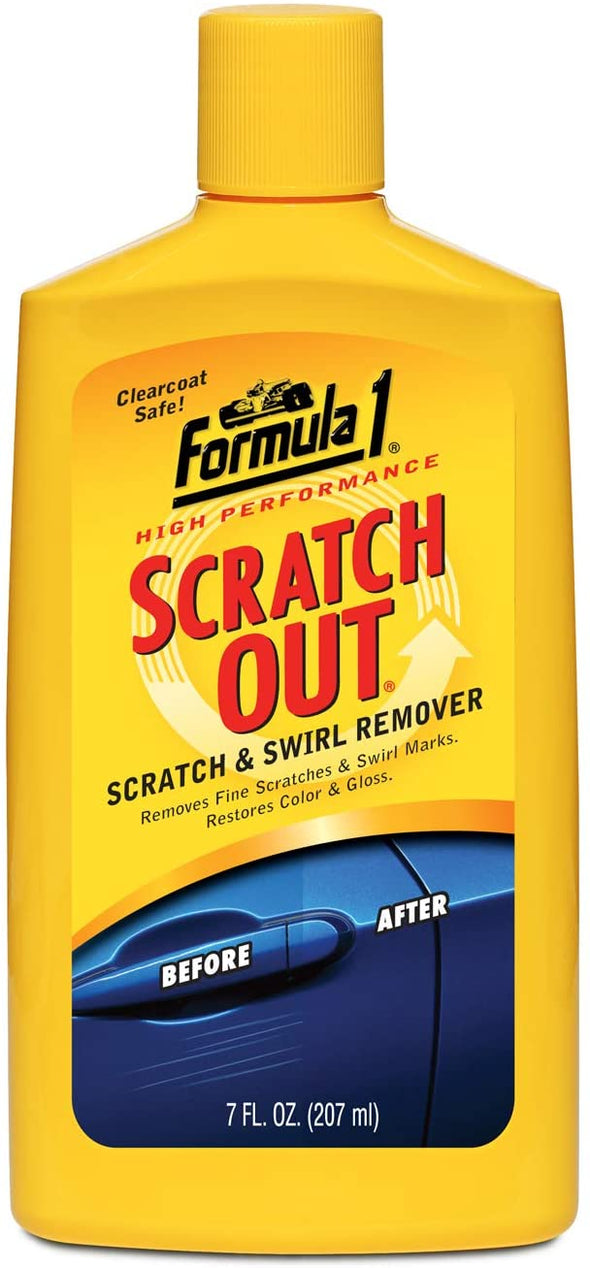 Formula 1 Scratch Out - Safe for All Auto Paint Finishes - 7 oz. Liquid Wax - The Car Wizz AutoStore