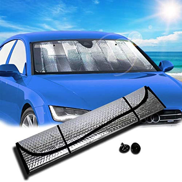 Hercules Windshield Folding Sun Shade, for Car Truck SUV - The Car Wizz AutoStore