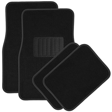 HS 5pc Full Set Carpet Floor Mats - The Car Wizz AutoStore