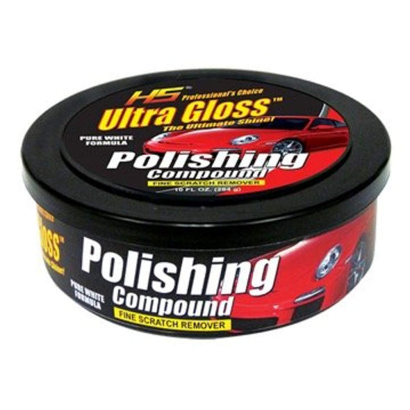 HS UltraGloss© Polishing Compound. The Professional Choice. 10 FL Oz. - The Car Wizz AutoStore