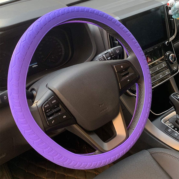 Hybrid Neon Soft Anti-Slip Silicone Steering Wheel Covers - The Car Wizz AutoStore