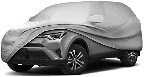 iMagic SUV Car Cover, Breathable Outdoor Indoor for All Season All Weatherproof/Windproof/Scratch Resistant Outdoor - The Car Wizz AutoStore