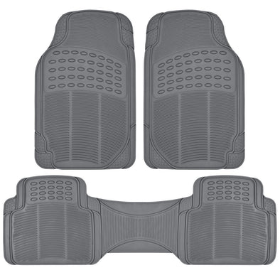 MAGIC PLUS ProLiner Original 3pc Heavy-Duty Front & Rear Rubber Floor Mats - The Car Wizz AutoStore