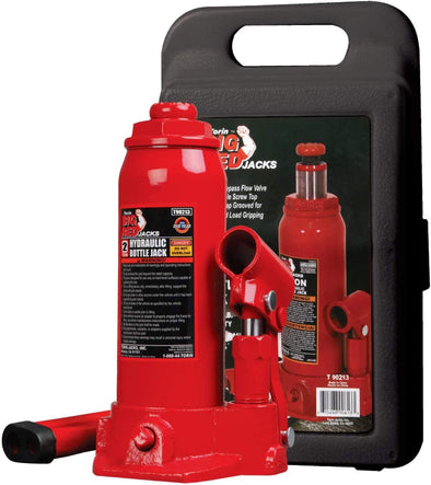 Majic 2 Ton Hydraulic Bottle Jack with Carry Case for Cars & Mini-Vans - The Car Wizz AutoStore