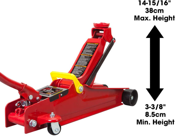 Majic 2.5 Ton Hydraulic Low Profile Trolley Service/Floor Jack for SUV, Vans, 4X4's - The Car Wizz AutoStore