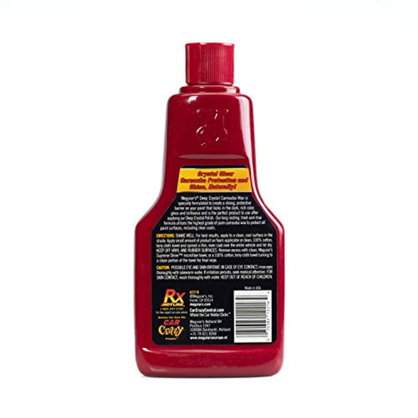 Meguiar's 16 Ounce Carnauba Wax - The Car Wizz AutoStore